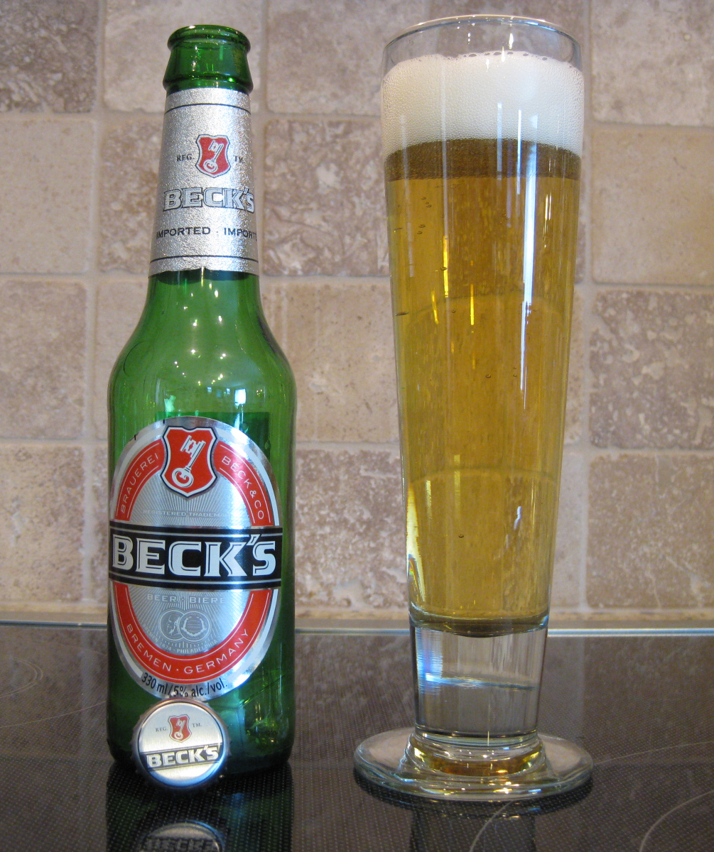 The Beer Is A Pale Yellow That Is Quite Light For What Is Assumed To Be An  All Malt Beer.